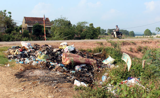 Làng quê ngập rác (kỳ 1)